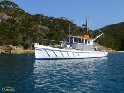 Classic Pilot Boat - Jock Muir Custom, built c. 1943
