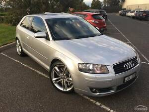 2004 Audi A3 Hatchback v6 3 door AWD Auto Seaford Frankston Area Preview