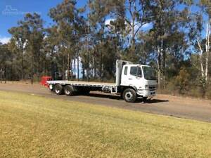 2010 Mitsubishi fighter with 2019 Loadmac forklift Freemans Reach Hawkesbury Area Preview