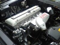 REBUILT Jaguar X300 XJR Supercharged AJ16 Engine + Manual Transmission and ECU