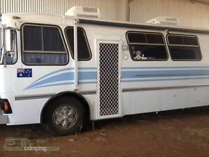 84 scania bus motorhome Scamander Break ODay Area Preview