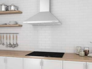 "LIQUIDATION PRICING - 30"" & 36"" ANCONA RANGE HOODS - LED LIGHTS, BAFFLE FILTERS - 50% OFF RETAIL PRICES"
