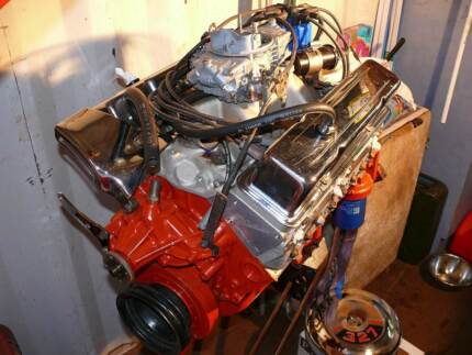 Small Block 407 cubic inch Chevrolet Engine. Ulverstone Central Coast Preview