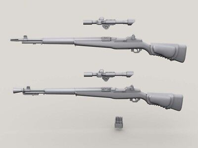 1/35 M1D Sniper Garand set 3x Basic M1D, 2x Flash Hider Version w/5x M84 Scopes for sale  Shipping to United States