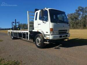 2007 Mitsubishi Fighter 10 with Donkey mounted forklift , only 235k kl Freemans Reach Hawkesbury Area Preview