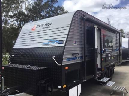 2017 New Age Manta Ray 20BC Enduro Triple Bunks Family van Beresfield Newcastle Area Preview