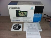 CLARION NX404E - 2DIN DVD/MULTIMEDIA STATION WITH BUILT-IN NAVIGATION