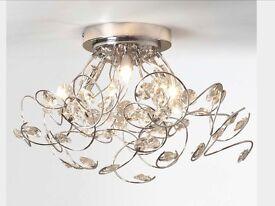 Lila 6 light ceiling pendant