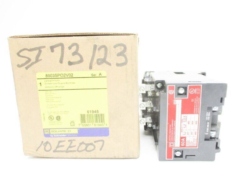 SQUARE D 8903SPO2V02 SER. A 110/120V NSMP