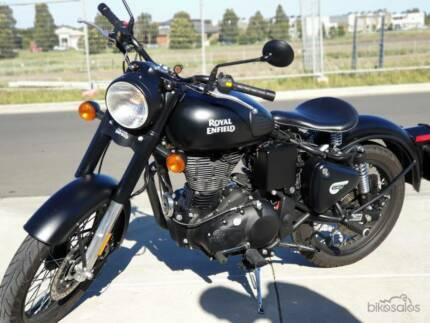 Royal Enfield Classic 500 Stealth Black with Rego and RWC Craigieburn Hume Area Preview