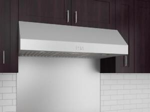 "36"" 625cfm Ancona Advanta Pro Elite Under cabinet range hood"