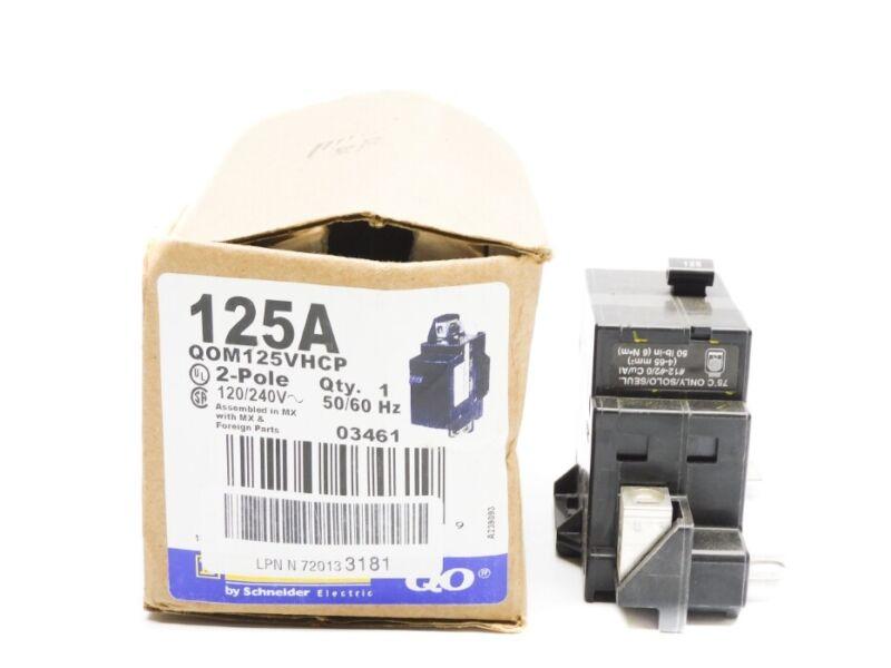 SQUARE D QOM125VHCP 125A 120/240V NSMP