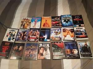 RANGE OF DVDS FOR SALE Melbourne CBD Melbourne City Preview