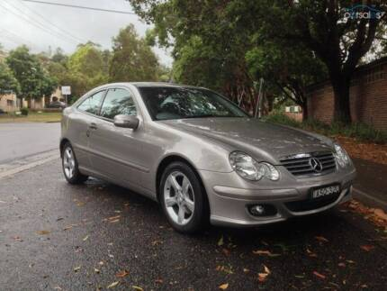 Mercedes-Benz C180 Kompressor Sports Coupe - Automatic North Sydney North Sydney Area Preview
