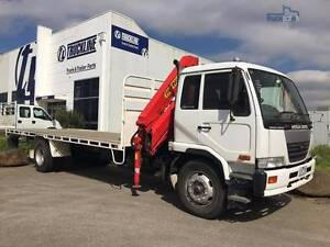 2005 NISSAN PK245 CRANE TRUCK FOR SALE Campbellfield Hume Area Preview