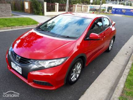 Honda Civic VTi-L 2012 auto, low kms, immaculate