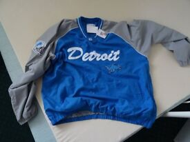 New XXL Detroit Lions NFL lined training top