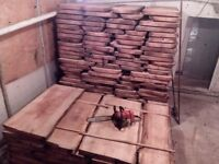 Timber , planks , slab , waney , hardwood . LIVE EDGE OAK