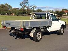2006 FORD COURIER 2.5 DIESEL (4X4)( CAB CHASSIS 120,000KMS Rochedale South Brisbane South East Preview