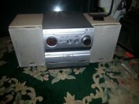 Sony Stereo hifi system 100W AUX with remote free local delivery