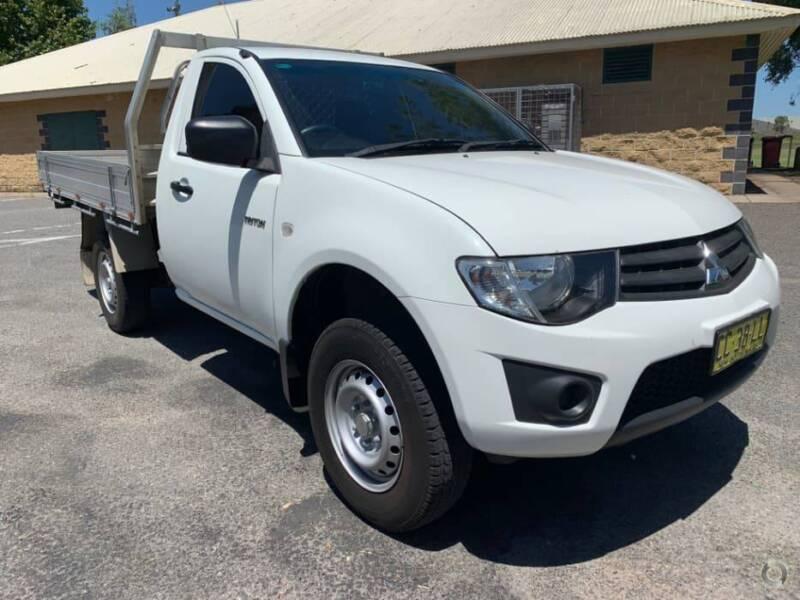 2014 Mitsubishi Triton Ute Cars Vans Utes Gumtree Australia