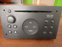 vauxhall vivaro radio grey