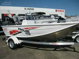 New Stacer 429S Proline Angler SC with Yamaha F40 4-Stroke EFI Preston Darebin Area Preview
