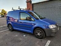 VW CADDY 2009 2.0 SDI C20 PANEL VAN LOW MILES - NO VAT