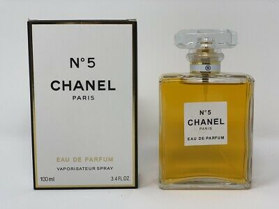 Chanel No.5 3.4 oz / 100 mL Eau De Parfum Spray Perfume For Women Brand New