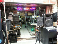Sound/PA System for hire Party Wedding Birthday DJ Disco Karaoke Full set up Live Concert Stage