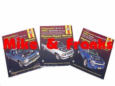 Reparaturanleitung Chevrolet S10 S15 Pickup Blazer Trailblazer Werkstatthandbuch