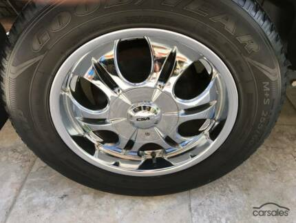 "18"" CSA wheels Rims for Dmax Colorado Rodeo NEW TYRES"