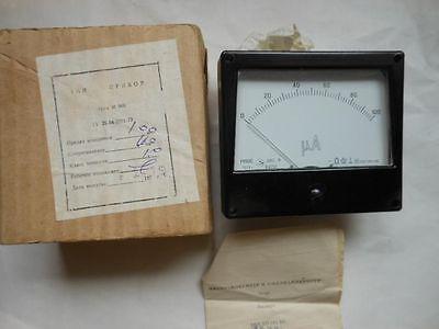 Voltmeter Ammeter Meter To Kalibr L3-3 Vacuum Tube Tester 0-150 100 200 500 Etc