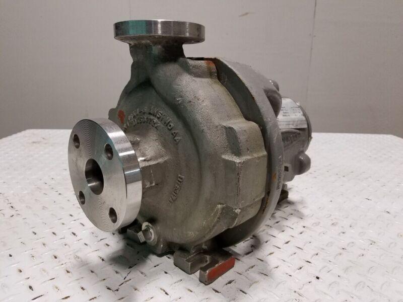 Durco/Flowserve 1K1.5x1-82  ANSI Pump, 316SS, #88005