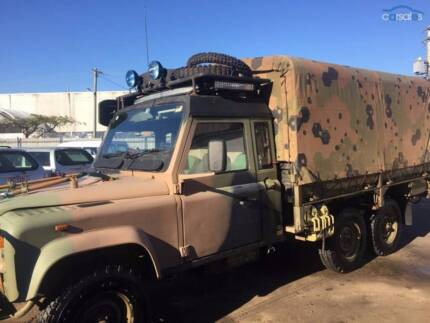 1996 Land Rover 110 Perentie Manual 6x6 Murarrie Brisbane South East Preview