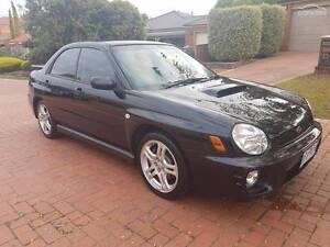 2001 Subaru Impreza WRX S Manual AWD MY01 Bundoora Banyule Area Preview