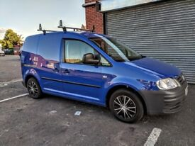 VW CADDY 2009 2.0 SDI C20 PANEL VAN LOW MILES - NO VAT