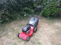 Petrol Lawnmower 3.5hp Self Drive Starts 1st Pull Seviced Free Local Delivery