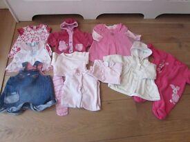 Next baby girl clothes newborn 0 - 3 months
