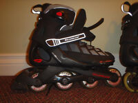 ROLLERBLADES EVO 03 SIZE 9 SHOCK ABSORBING EXTRA VENTED INLINE SKATES