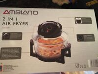 AMBIANO 2 in 1 Air Fryer from ALDI
