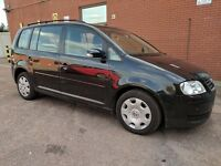 VW TOURAN 1.6 FSI AUTOMATIC 2005 - 7 SEATS - SPARES OR REPAIRS