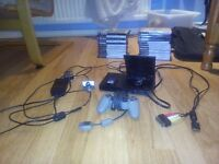 PS2 with games and extras
