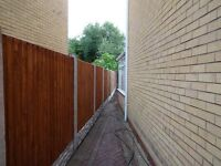 10 bays supply and fitted £695 (NO DEPOSIT TAKEN)(OLD FENCE TAKEN AWAY FREE)