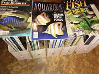 Aquarium magazines for sale