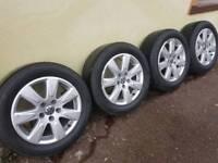 """Vw alloy wheels 16"""" 5x112"""
