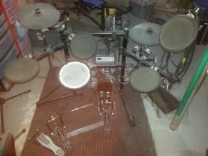 Roland TD-3 Electronic Drums with Extras