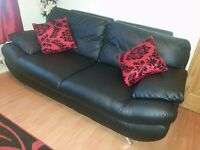 3+2 REAL LEATHER SOFA'S FOR SALE