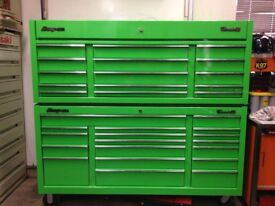 Snap On Tool box Green Classic