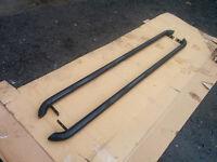 Return stock VW Transporter T4 Black O.E style side bars no fitting kit minor damage
